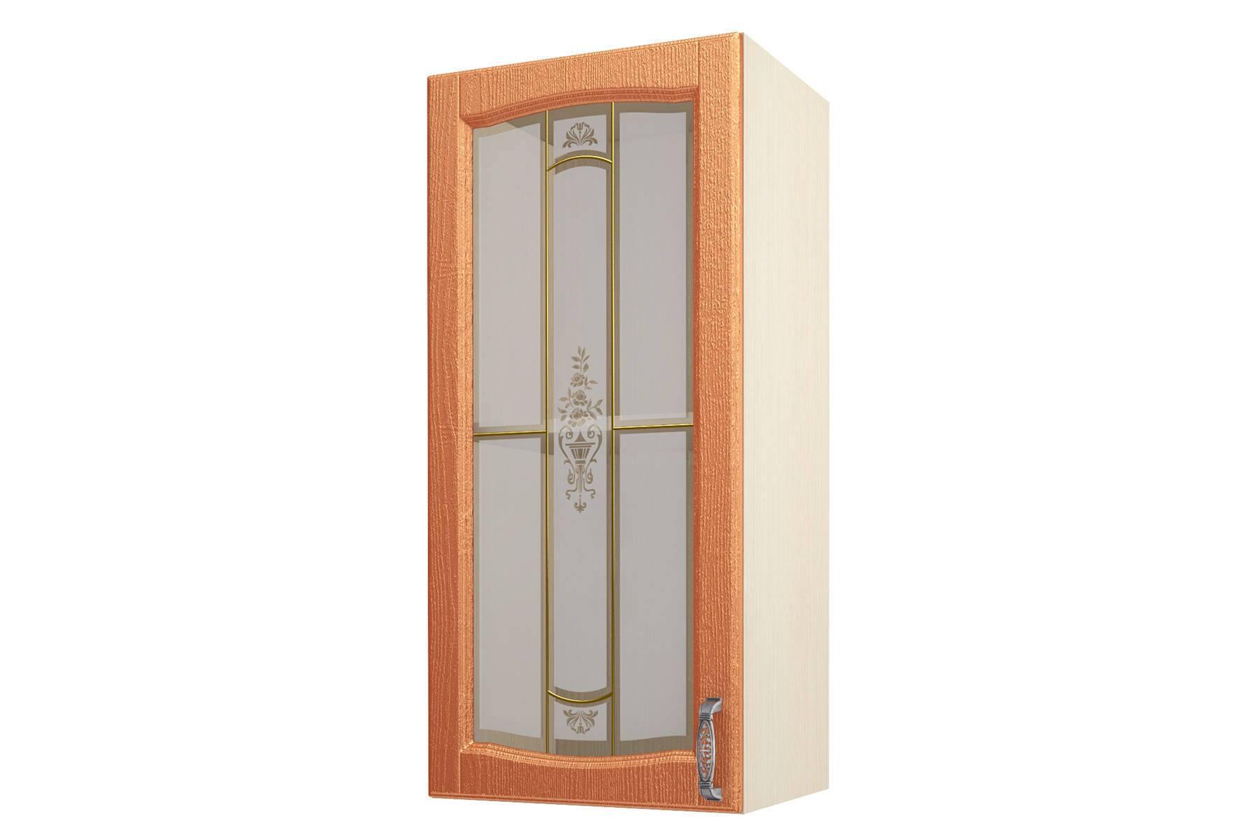 Равенна ART Шкаф-витрина 45 (Н-96), 1 дверь равенна art шкаф навесной 40 н 96 1 дверь