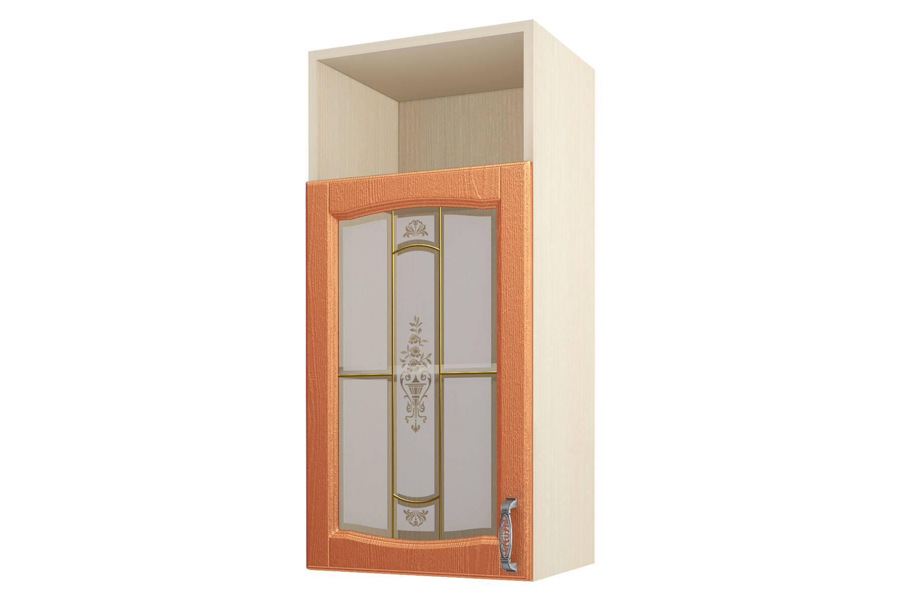Равенна ART Шкаф-витрина 45, с нишей 1 дверь