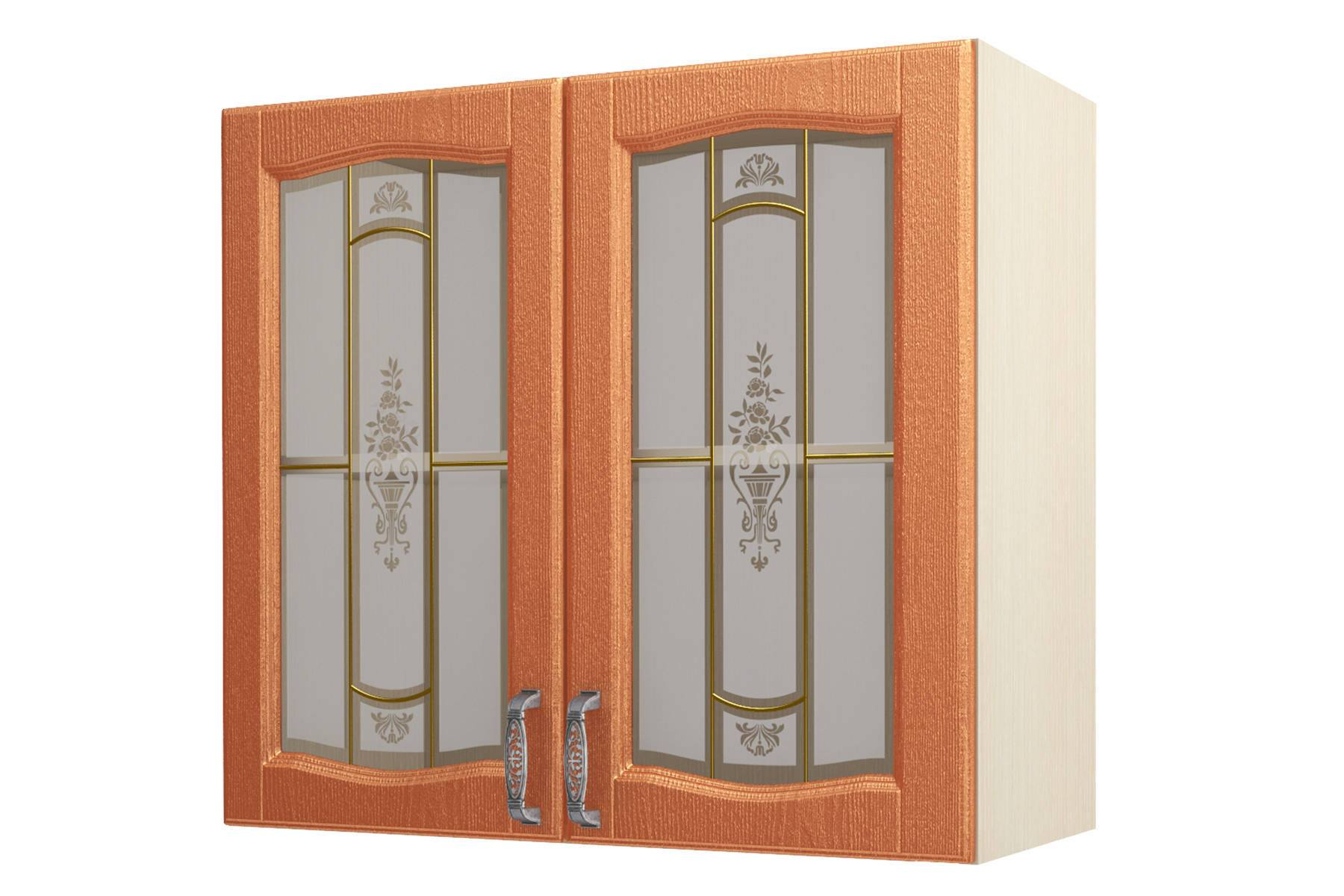 Равенна ART Шкаф-витрина 80, 2 двери