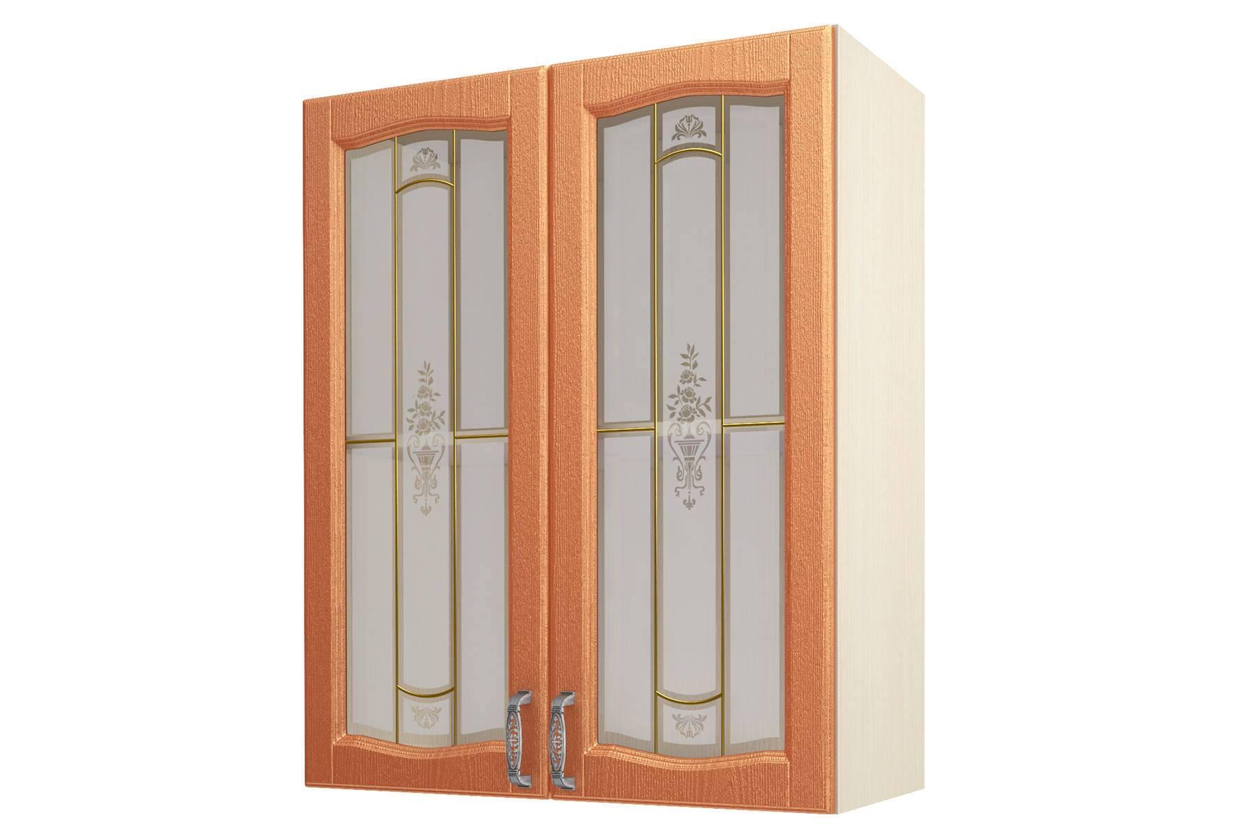 Равенна ART Шкаф-витрина 80 (Н-96), 2 двери