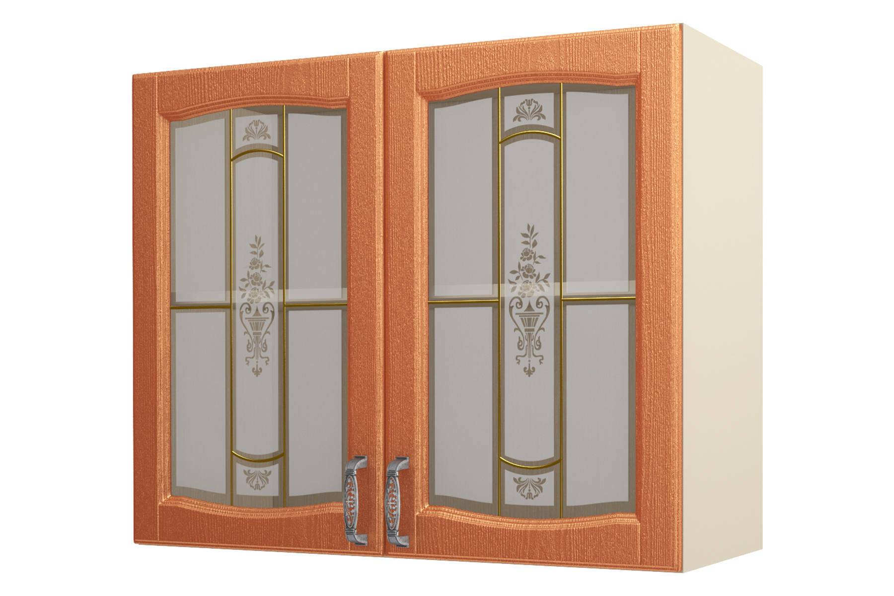 Равенна ART Шкаф-витрина 90, 2 двери шкаф зодиак 2 распашные двери