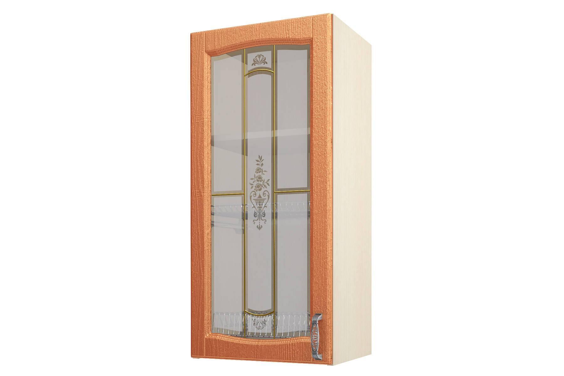 Равенна ART Шкаф-сушка-витрина 45 (Н-96), 1 дверь равенна art шкаф навесной 40 н 96 1 дверь