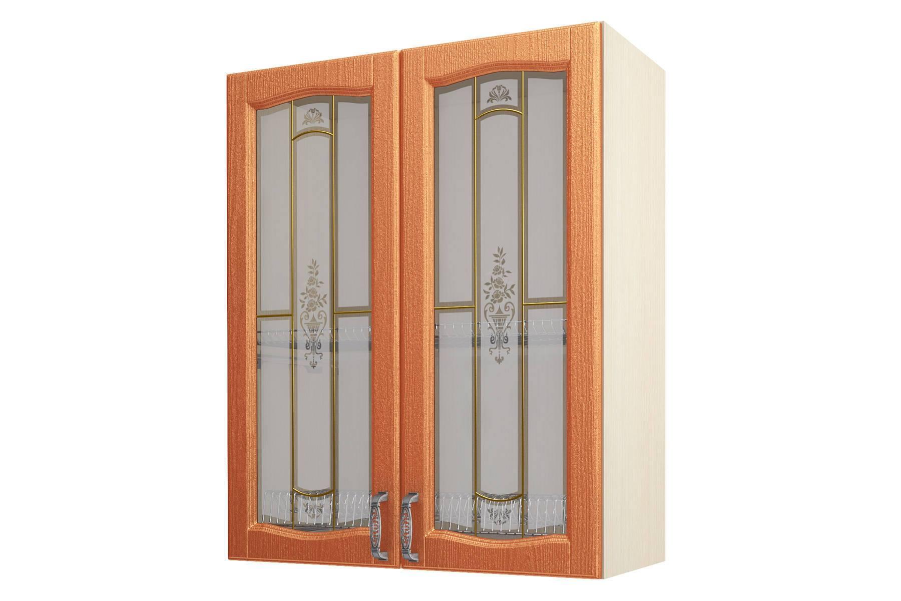 Равенна ART Шкаф-сушка-витрина 80 (Н-96), 2 двери