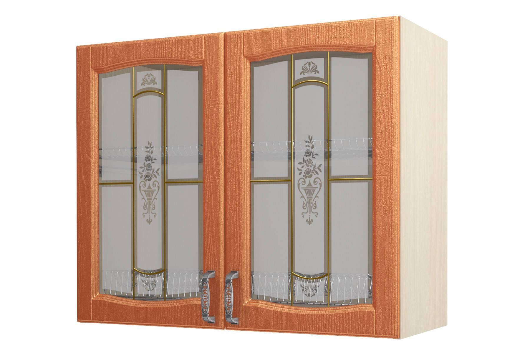 Равенна ART Шкаф-сушка-витрина 90, 2 двери
