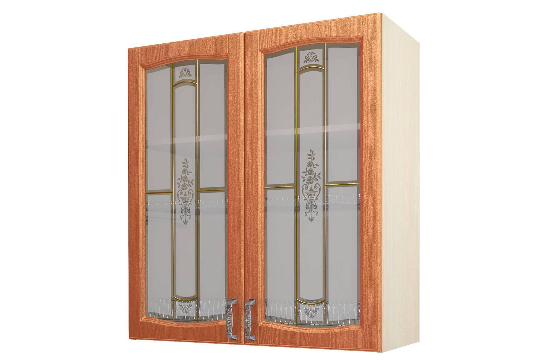 Равенна ART Шкаф-сушка-витрина 90 (Н-96), 2 двери