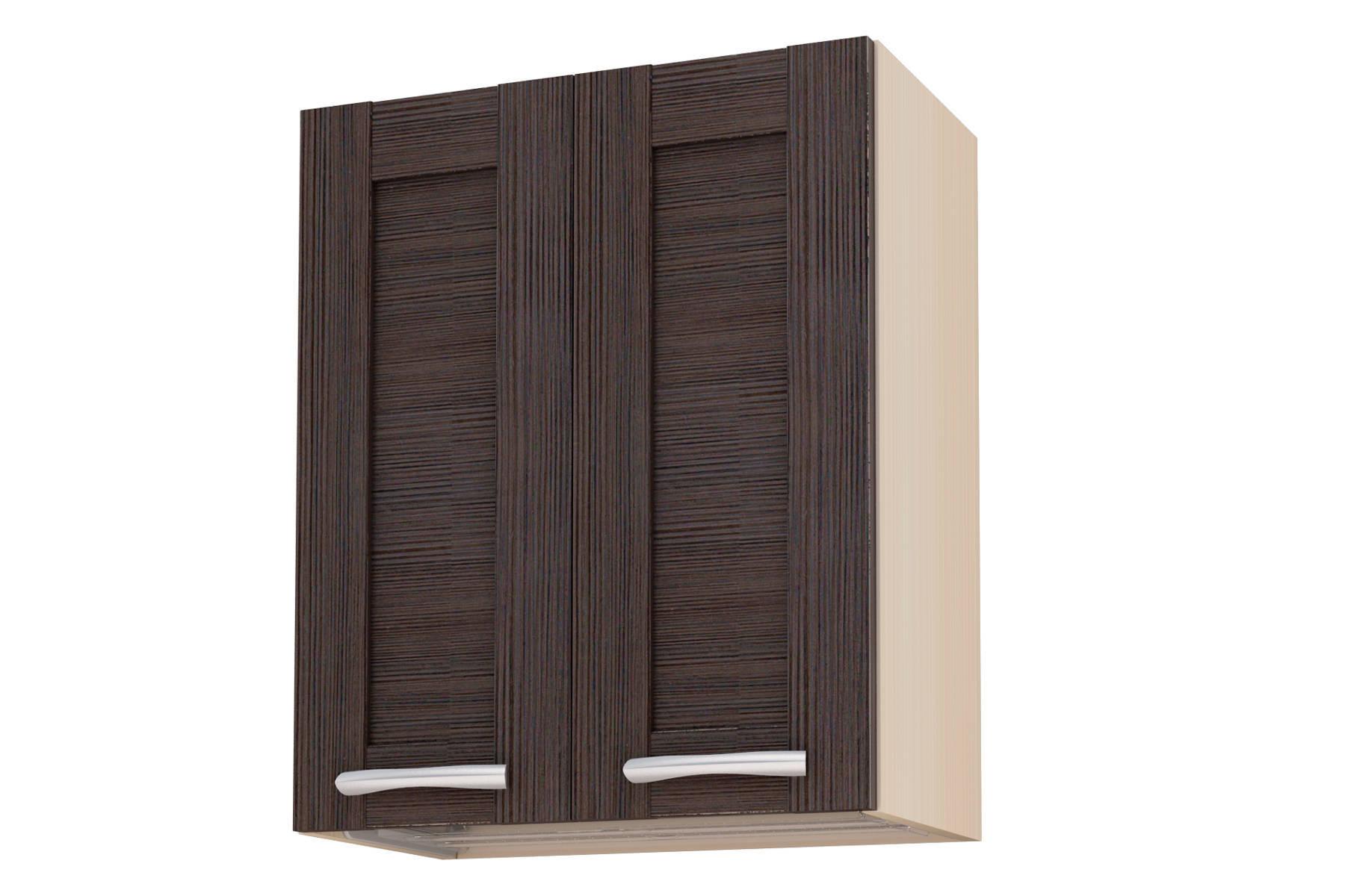 Селена шкаф навесной 600 дуб темный - купить по цене 5 460 р.