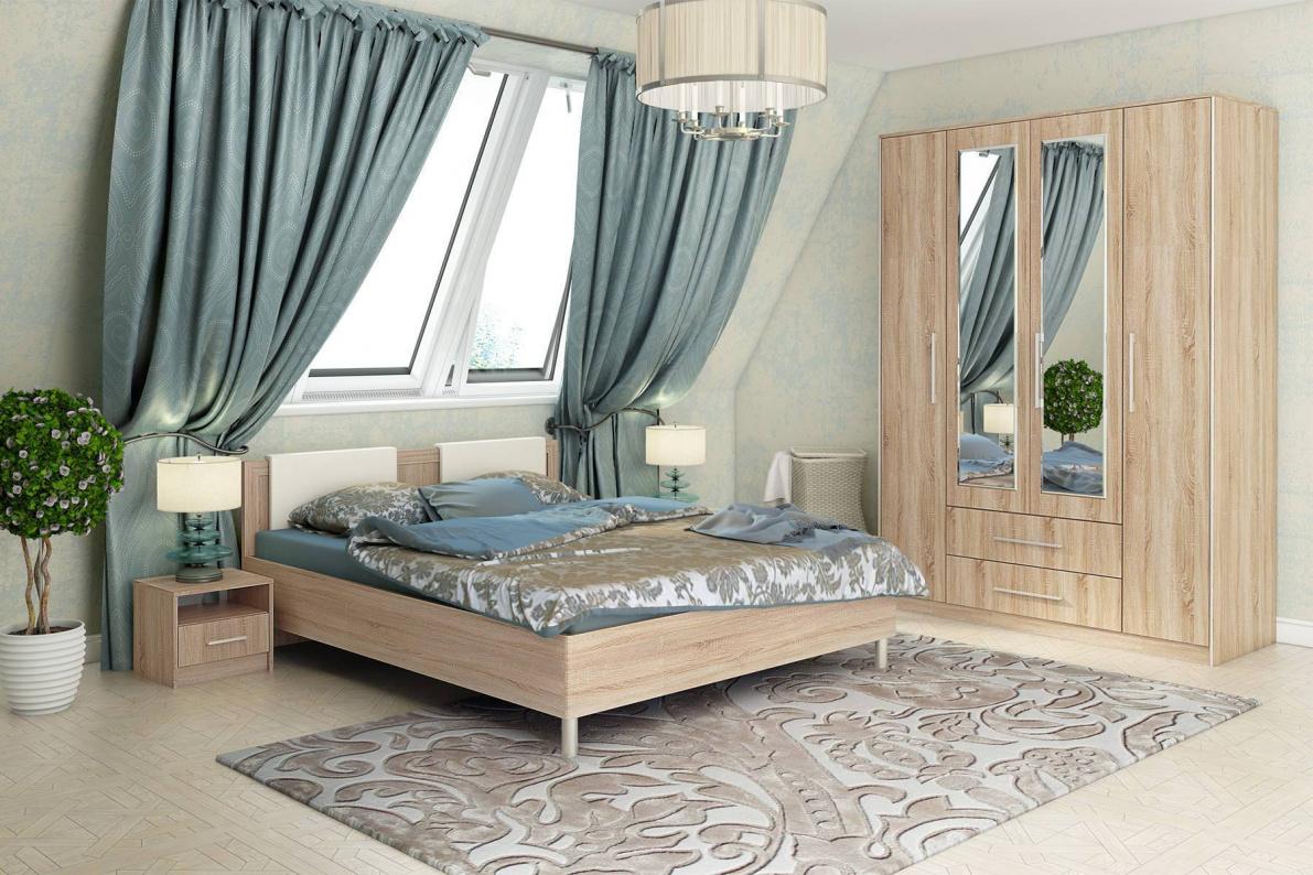 Купить Спальня Сиеста в  интернет магазине мебели. Мебельный каталог STOLLINE.