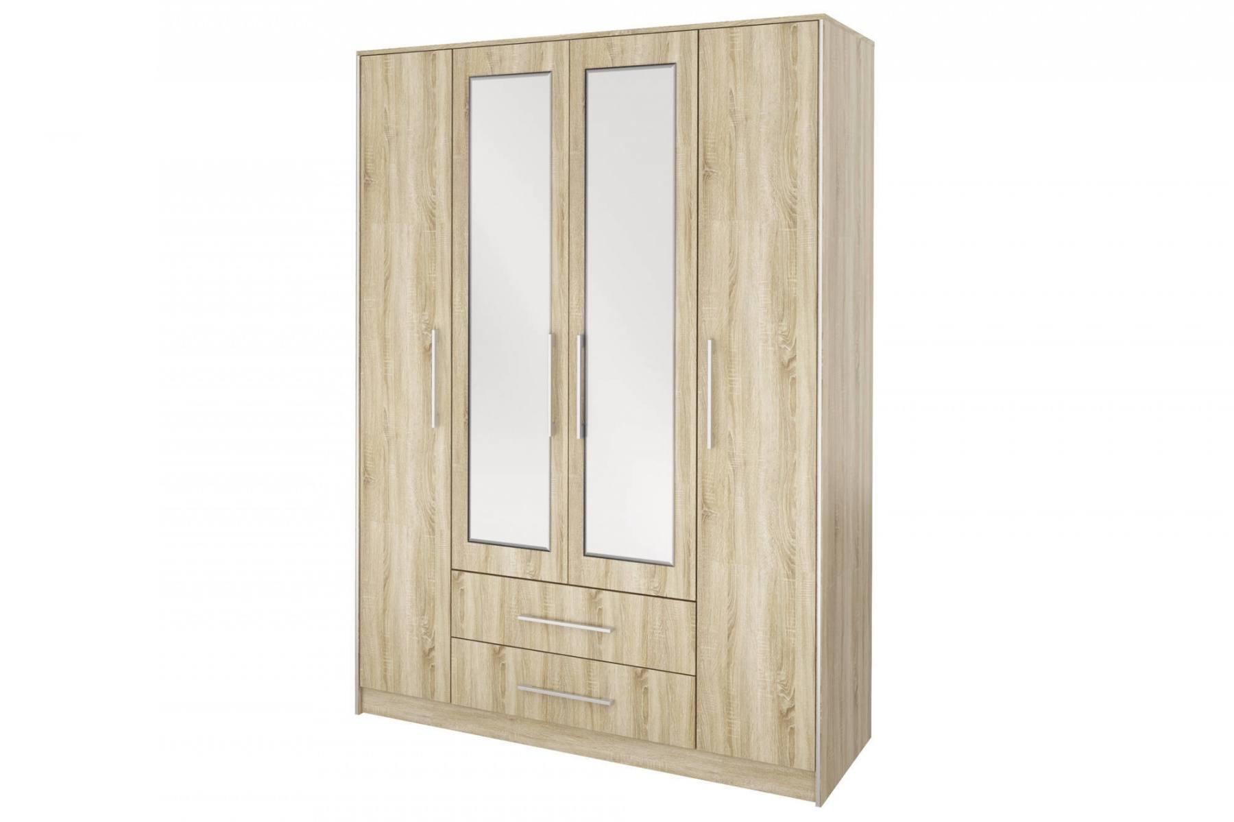 Шкаф 4-х дв. с зеркалами Сиеста СТЛ.138.01 шкаф 4 х дв с зеркалами скуп
