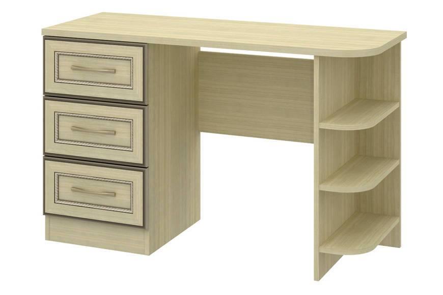 Купить Стол туалетный левый София СТЛ.098.42 в  интернет магазине мебели. Мебельный каталог STOLLINE.