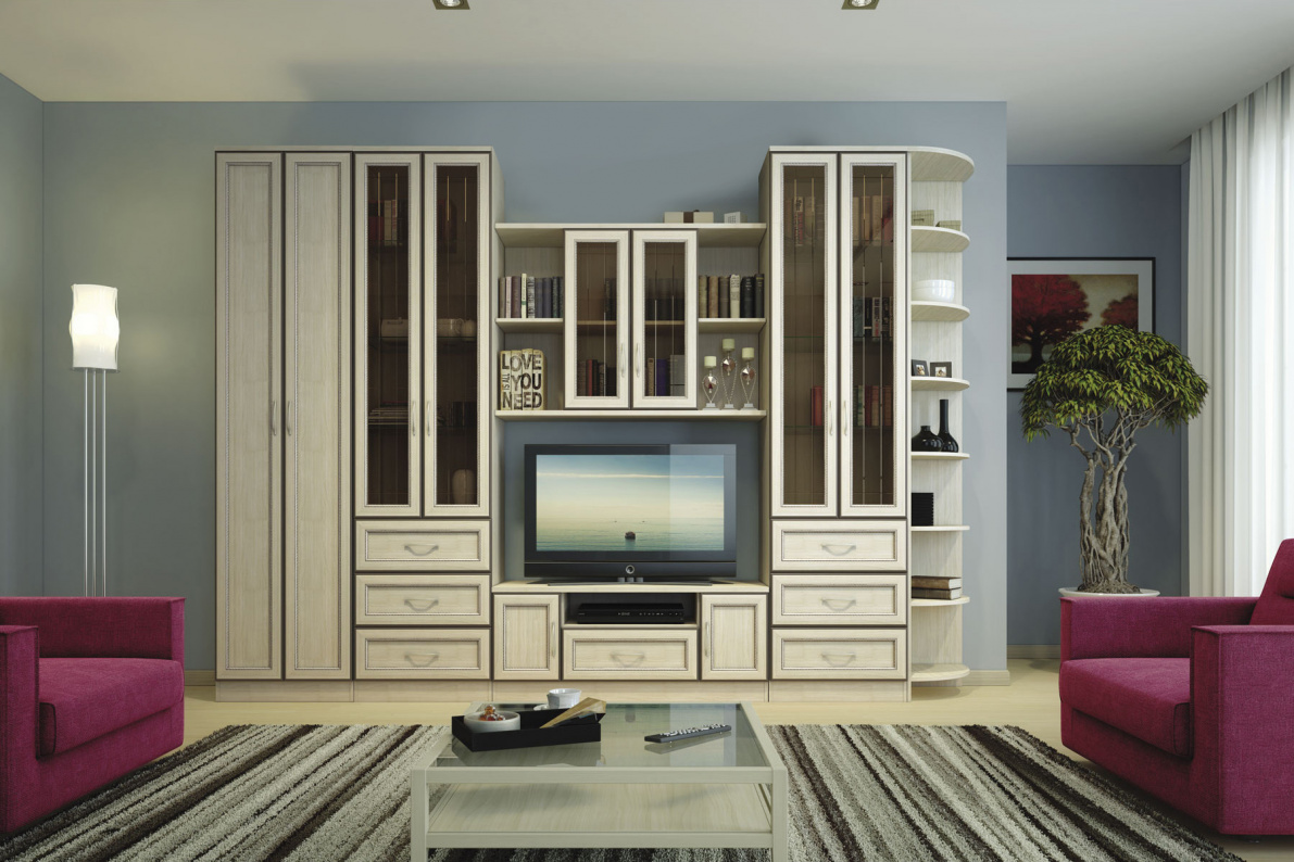 Купить Гостиная София в  интернет магазине мебели. Мебельный каталог STOLLINE.