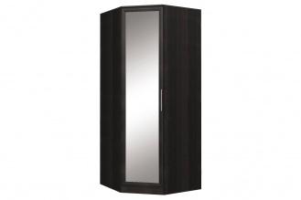 Шкаф угловой с зеркалом Юлианна СБ-101-01М