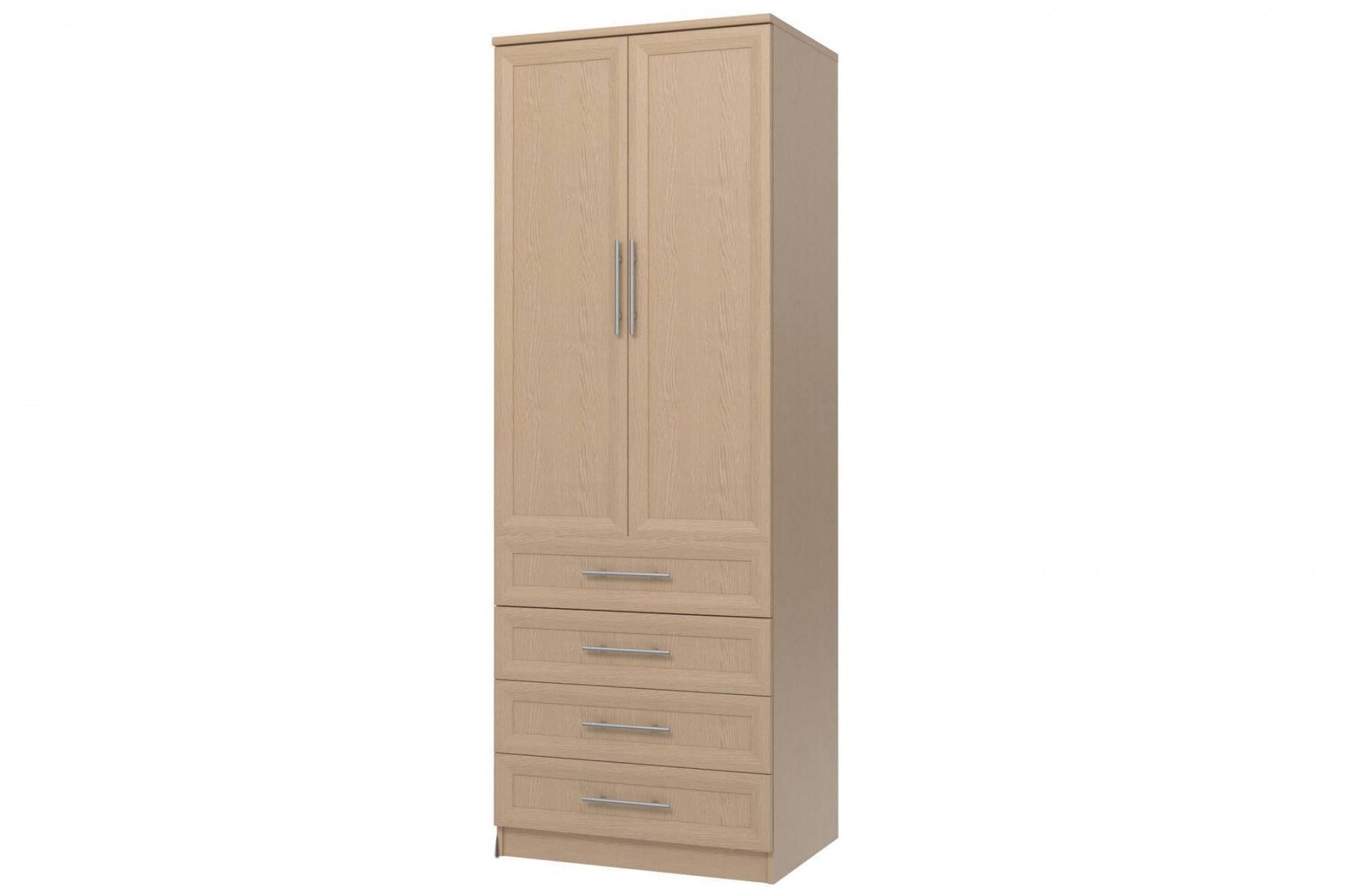Шкаф 2-х дверный с 4-мя ящ. Юлианна СТЛ.004.01-01М