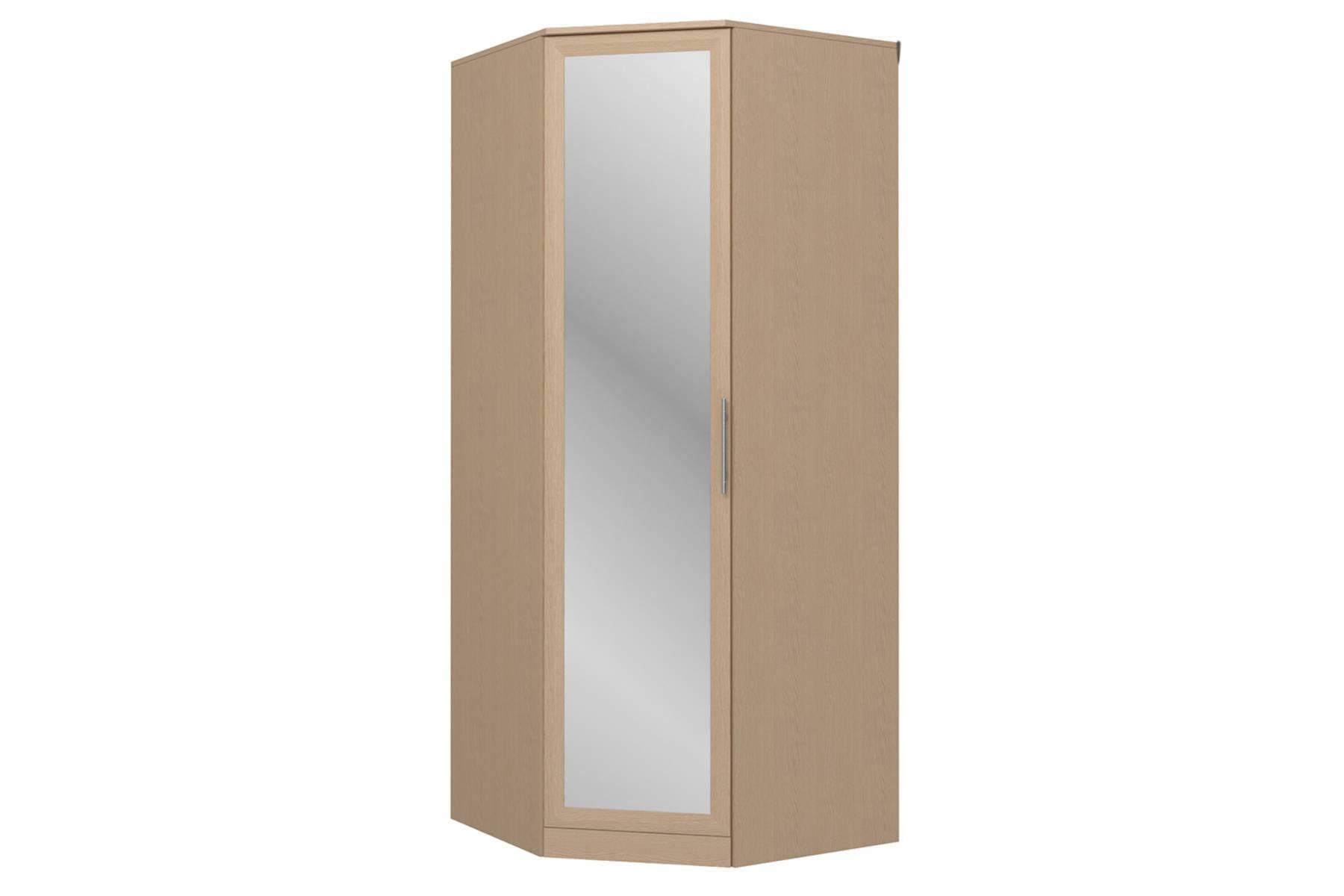 Шкаф угловой с зеркалом Юлианна СБ.Н-101-01М