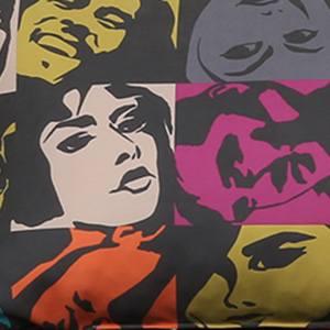 Pop-art multi Микровелюр